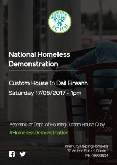 National Homeless Demonstration 17.06.2017