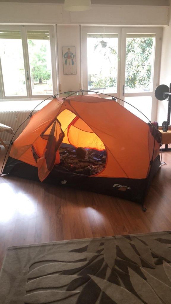 Camping  in Quarantine